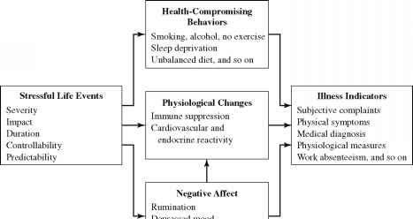 Life Events Theory Health Psychology